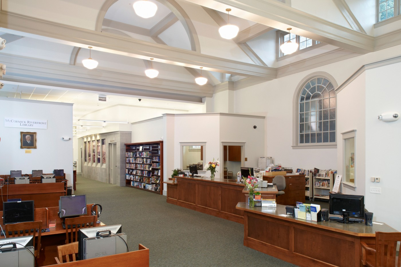 McCormick Riverfront Branch Library & Central Offices, Dauphin County Library System